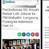 Maaf, Pemerintah Kami Sok Klaim Lobi Soal Pembebasan Siti Aisyah