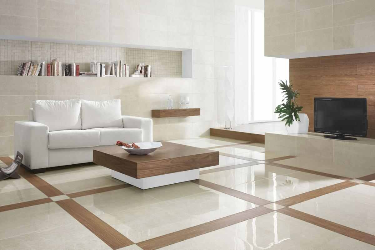 Simple Modern White Marble Flooring Types