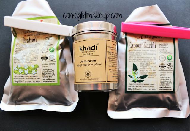 impacco rinforzante anticaduta alle erbe diy rimedio  ayurvedico erbe di janas khadi