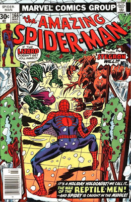 Amazing Spider-Man #166, The Lizard and Stegron