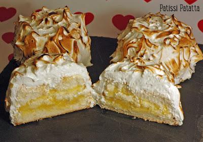 angel cake, gâteau des anges, citron meringué, douceur au citron, patissi-patatta