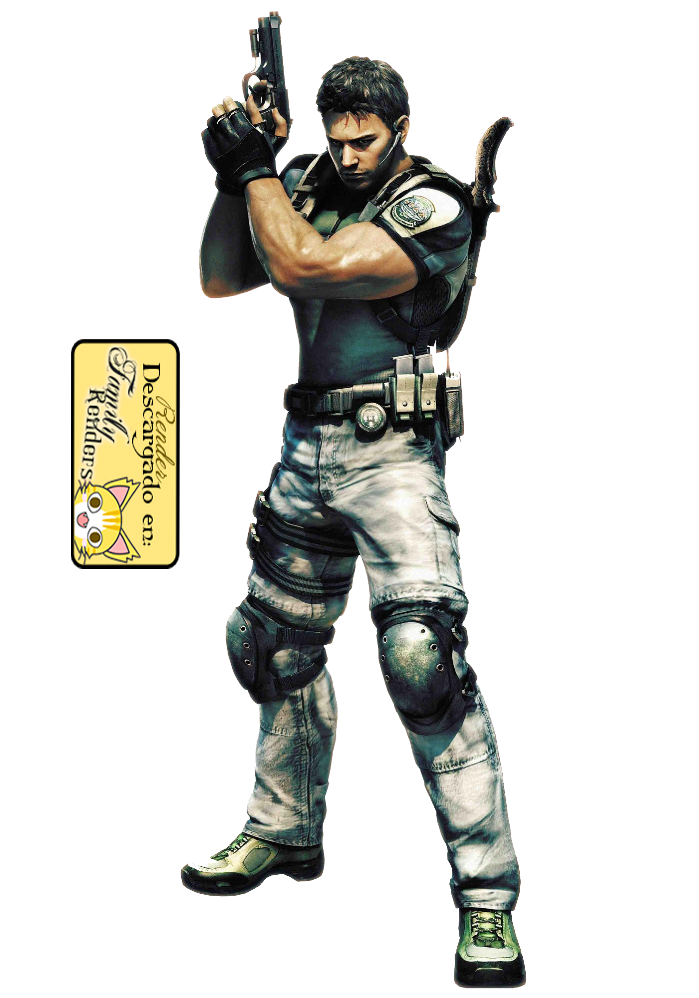 PNG-Chris Redfield