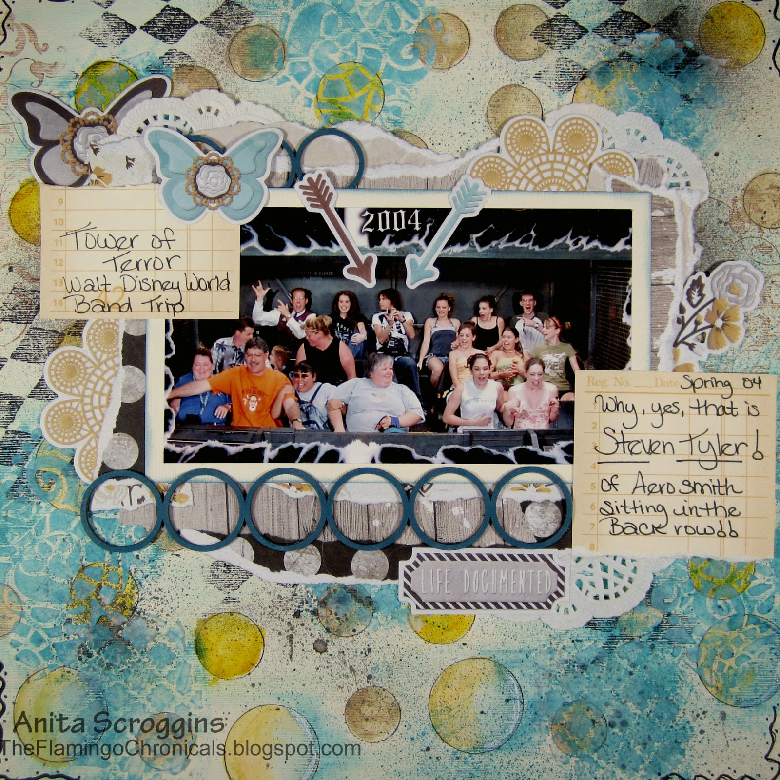 Mixed media layout