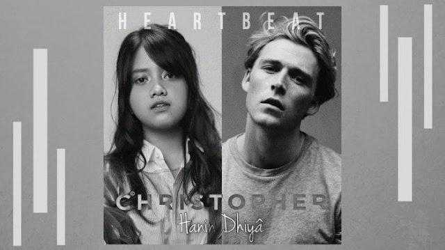 Chord Gitar/Kunci Gitar Christopher x Hanin Dhiya - Heartbeat