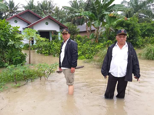 Banjir Meluas, Ratusan Rumah dan Sawah di Desa Ara Condong Direndam Air