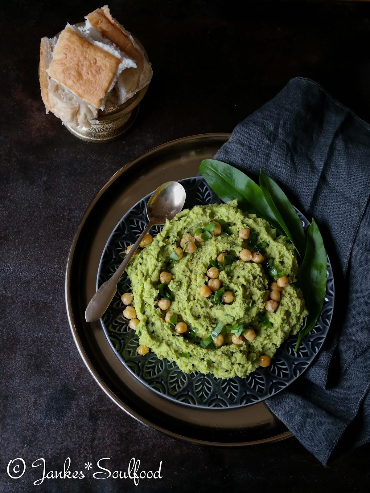 Hummus mit Bärlauch
