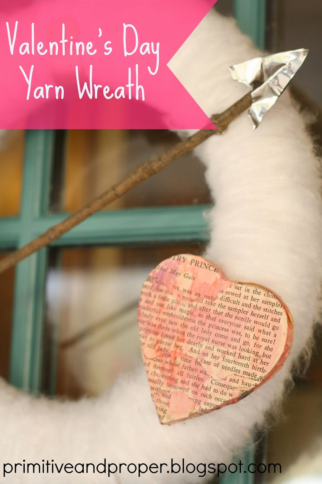 Prayers needed!!! Valentine's Heart & Arrow Wreath, Mantle, And