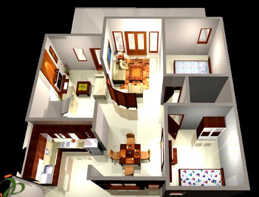 Desain rumah minimalis modern 1 lantai type 36 Desain ...