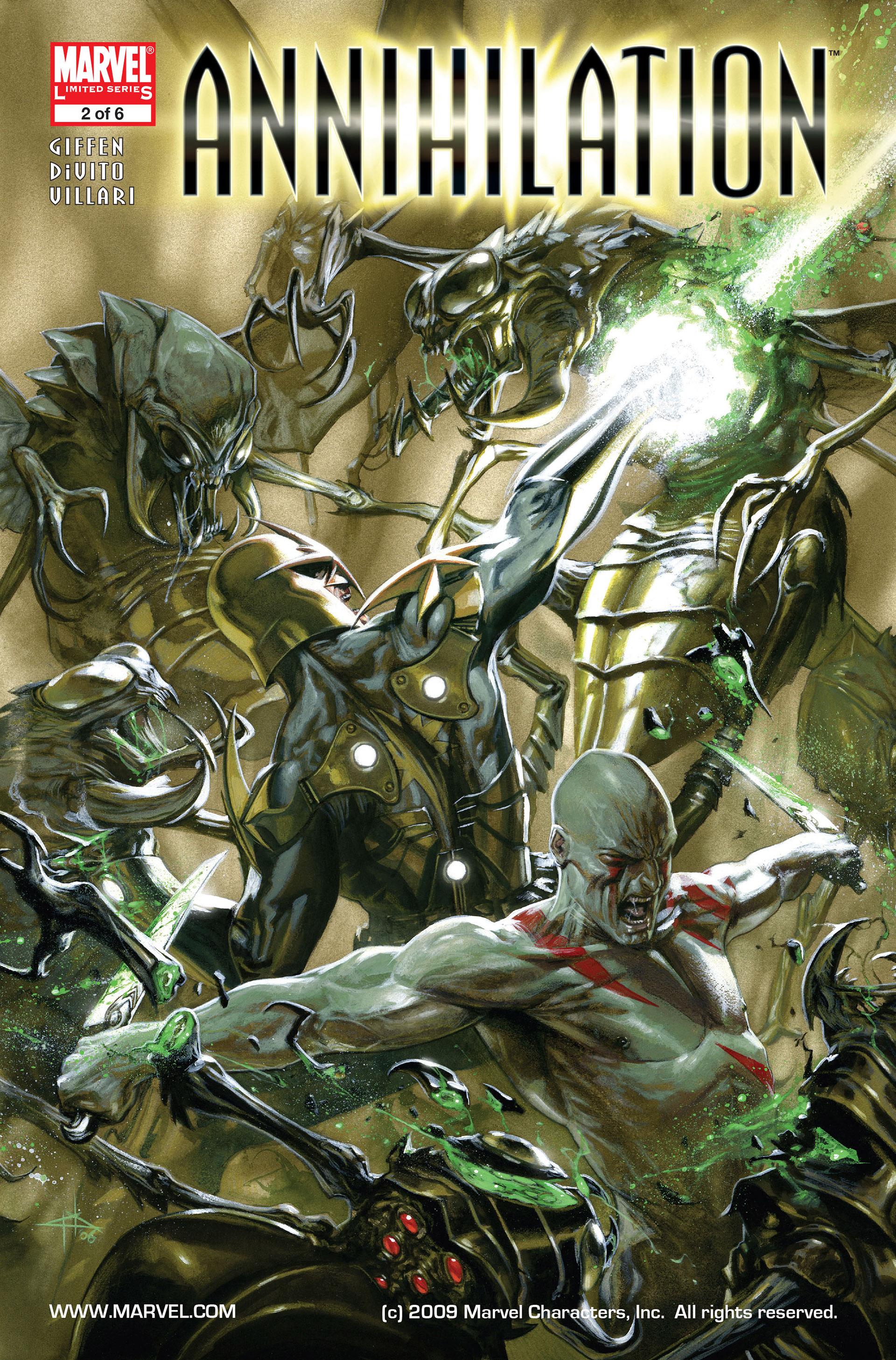 Read online Annihilation comic -  Issue #2 - 1