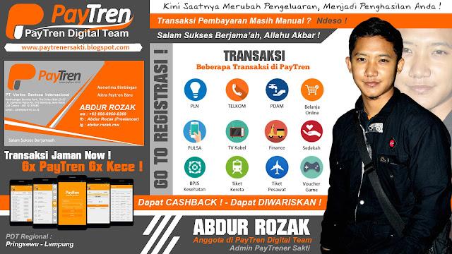 Design Banner PayTren Keren Untuk Promo
