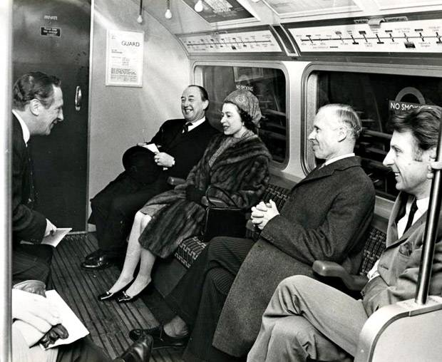 7 March 1969: After officially opening the Victoria Line HMQ travels from  Victoria to Green Park having purchase a 5d ticket. In decimal money,  that's 2.08 ...