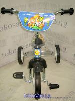 Sepeda Roda Tiga PMB BMX 919 Safari CP - Chrome Pernekel