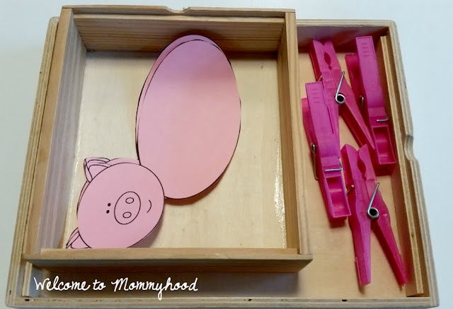 Montessori inspired farm themed preschool activities by Welcome to Mommyhood, #montessori, #preschoolactivities, #farmthemedactivities