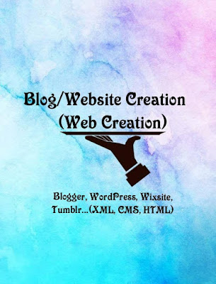 WEB CREATION (BLOG/WESITE CREATION) | TAMIWISE SERVICES