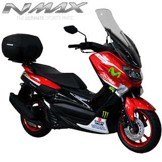 Harga Cash dan Kredit Motor Modifikasi Yamaha NMax Non ABS Full Custom