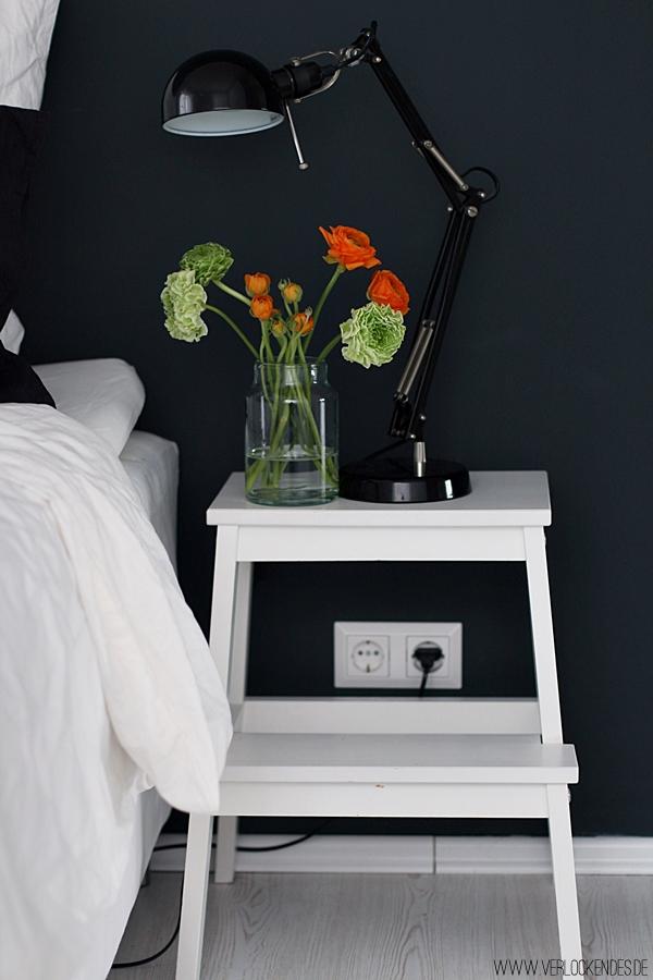 Schlafzimmer News + Neue Lieblingsuhr + Schwarze Wände
