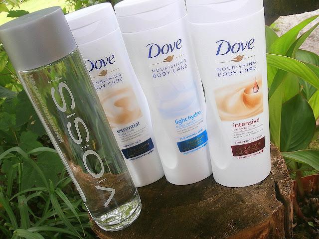 Dove Nourishing Body Care, czyli o nowej serii balsamów do ciała słów kilka