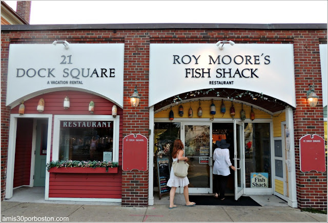 Lobster Shacks en Massachusetts: Roy Moore's Fish Shack Restaurant