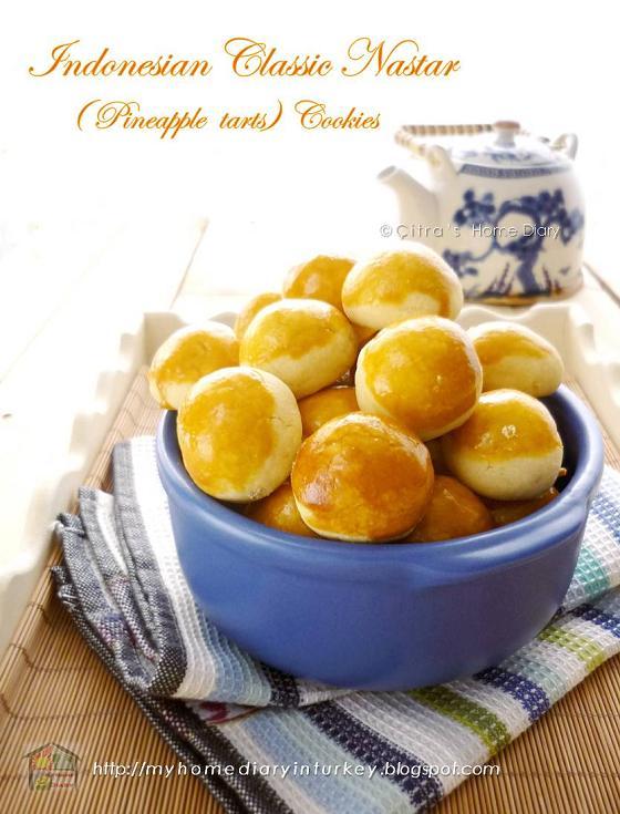 Citra S Home Diary Nastar Klasik Indonesian Classic Pineapple Tarts Cookies