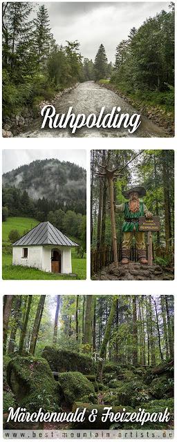 Familienwanderung in Ruhpolding  Märchenwald und Freizeitpark  Wandern im Chiemgau  Wanderung-Ruhpolding