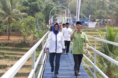 Jembatan Talang XL Diresmikan