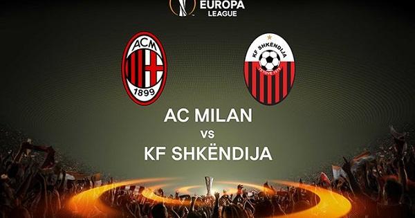 AC Milan vs Shkendija