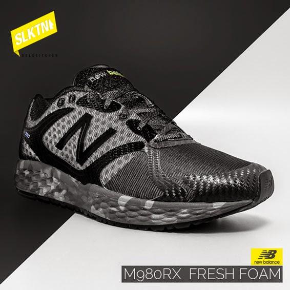 New Balance M980RX Fresh Foam Reflective (Schwarz)