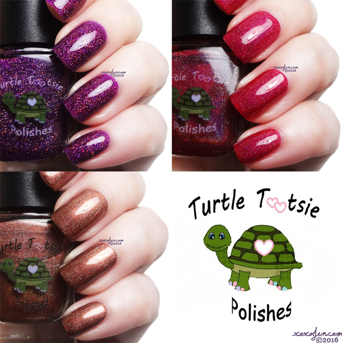 xoxoJen's swatches of Turtle Tootsie