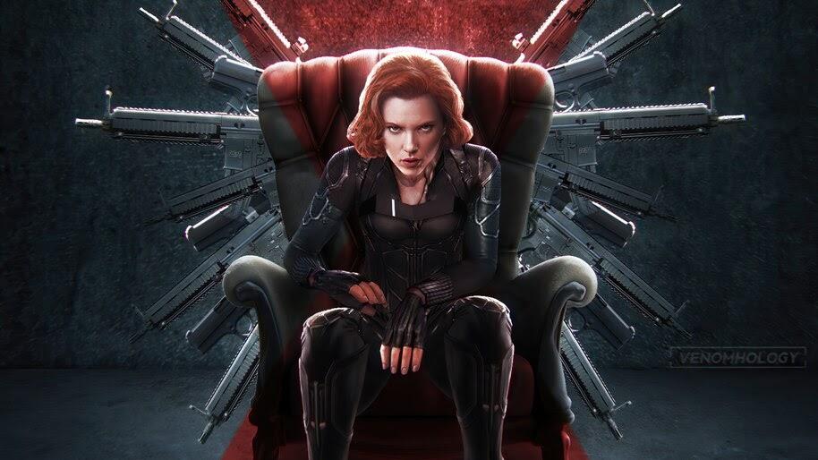 Black Widow, Guns, Movie, 2020, 4K, #3.2249