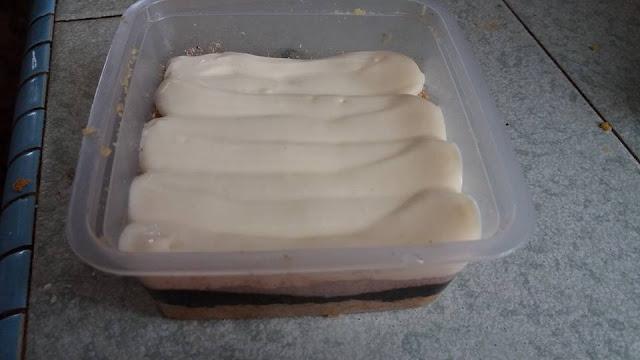 resepi cheesekut coklat