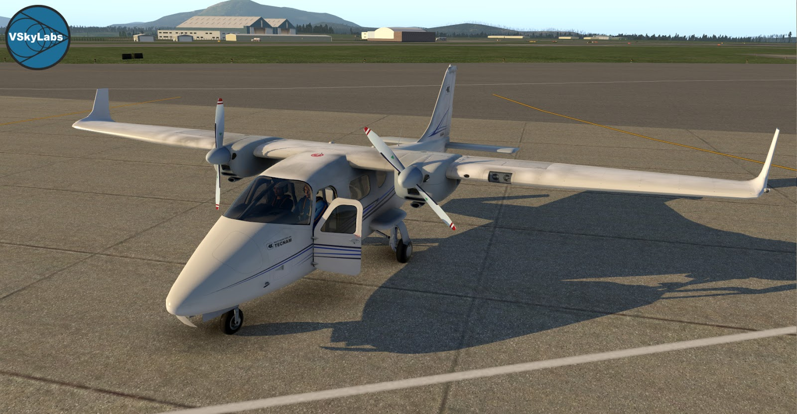 The VSKYLABS Tecnam P2006T