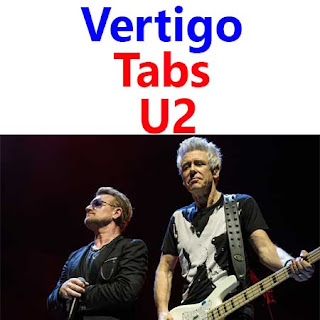 Vertigo Tabs U2 - How To Play Vertigo U2 Songs On Guitar Tabs & Sheet Online