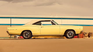 1968 Dodge Coronet 500 Sport Coupe Side Right