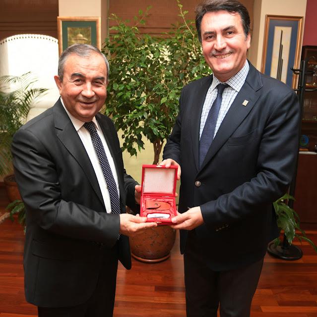 Başsavcı Gürlek'ten Başkan Dündar'a Veda Ziyareti