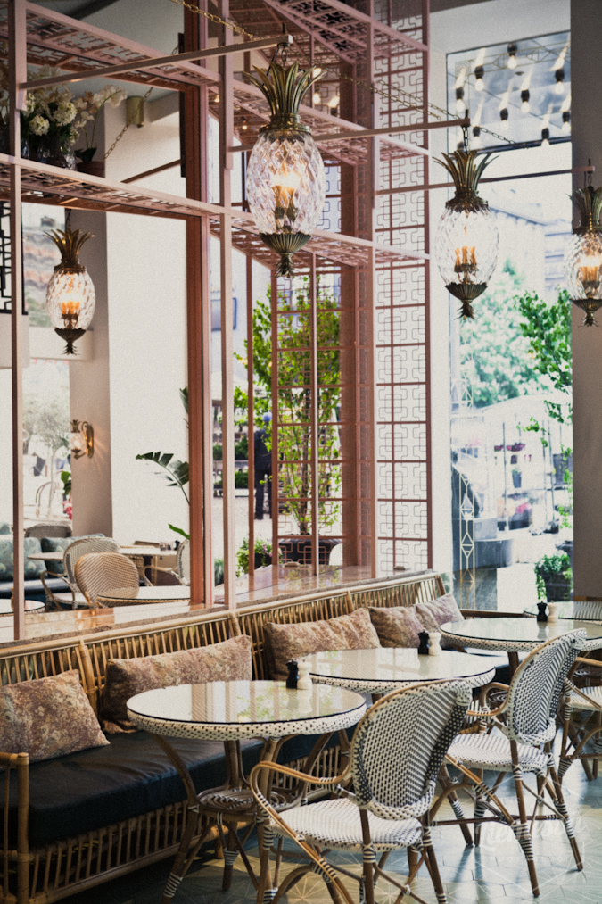 Greta's hotelli kahvila Tukholma