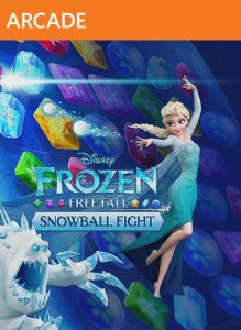 Frozen Free Fall: Snowball Fight (X-BOX 360) 2015