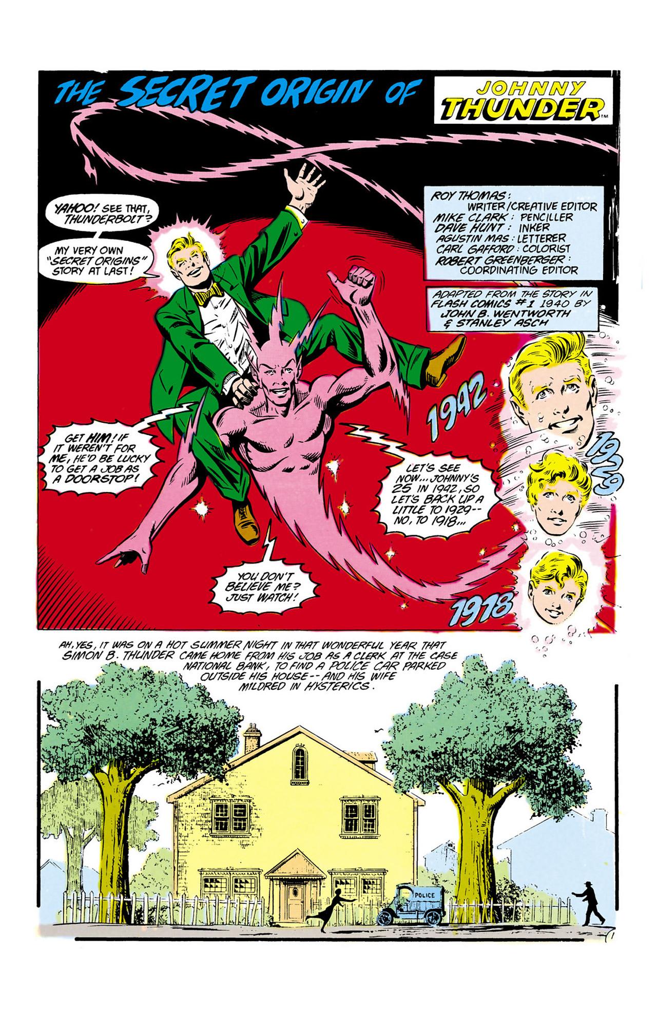 Read online Secret Origins (1986) comic -  Issue #13 - 31