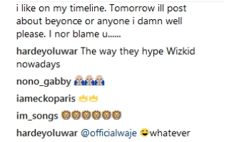 Singer Waje Blasts Fan Who Called Her Out For Congratulating Wizkid And Ignoring Davido (See What She Said)
