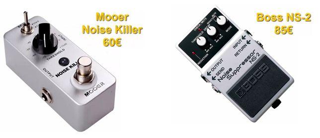 Pedales Puertas de Ruido (Noise Gate) para Eliminar Ruido de Guitarra Eléctrica
