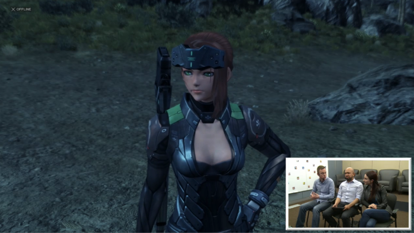Xenoblade Chronicles X female protagonist custom girl Mass Effect Nintendo Wii U