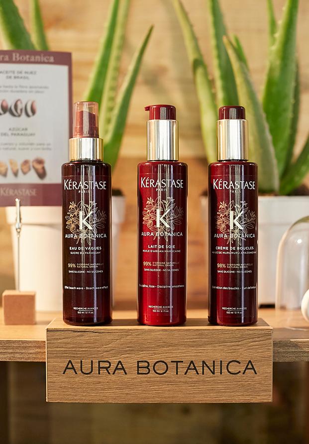 De pelo a ¡pelazo! con la nueva línea de styling Aura Botanica de Kérastase