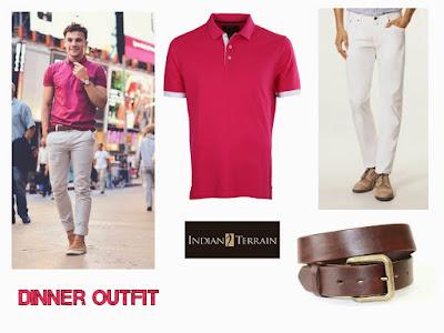 Dinner outfit, Dinner time, Men's clothing, Men Fashion