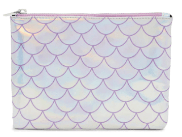 Forever 21 Holographic Mermaid Scale Clutch