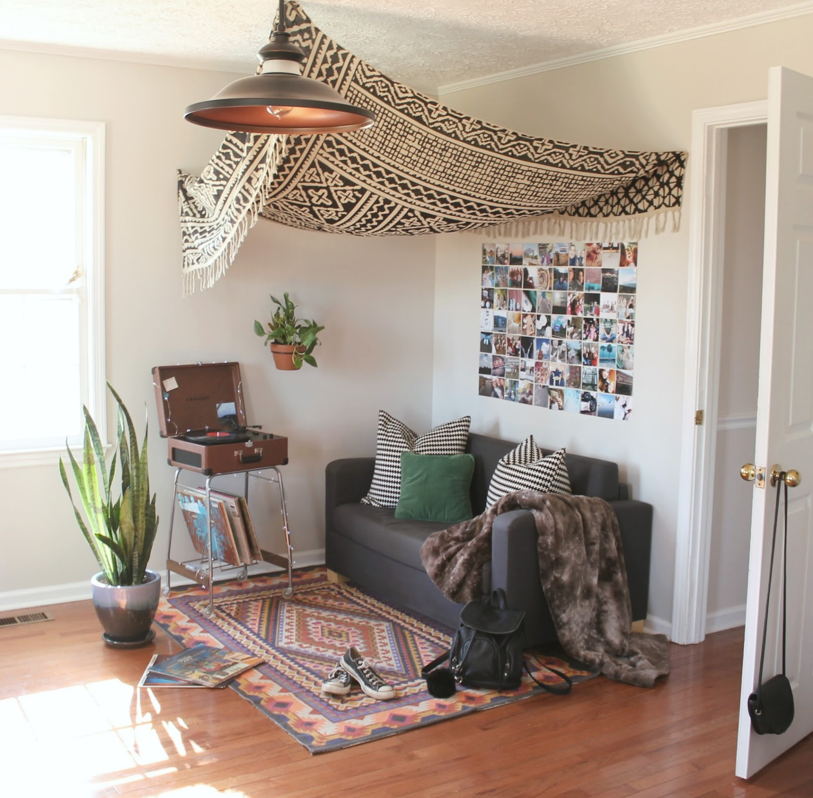 teenage bohemian bedrooms