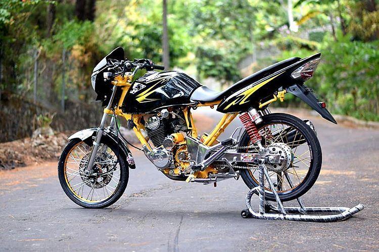 Modifikasi Motor Modifikasi Honda Tiger Herex