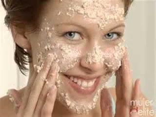 exfoliar el rostro
