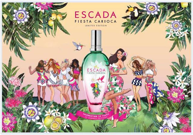 Fiesta Carioca By Escada Cosmetics