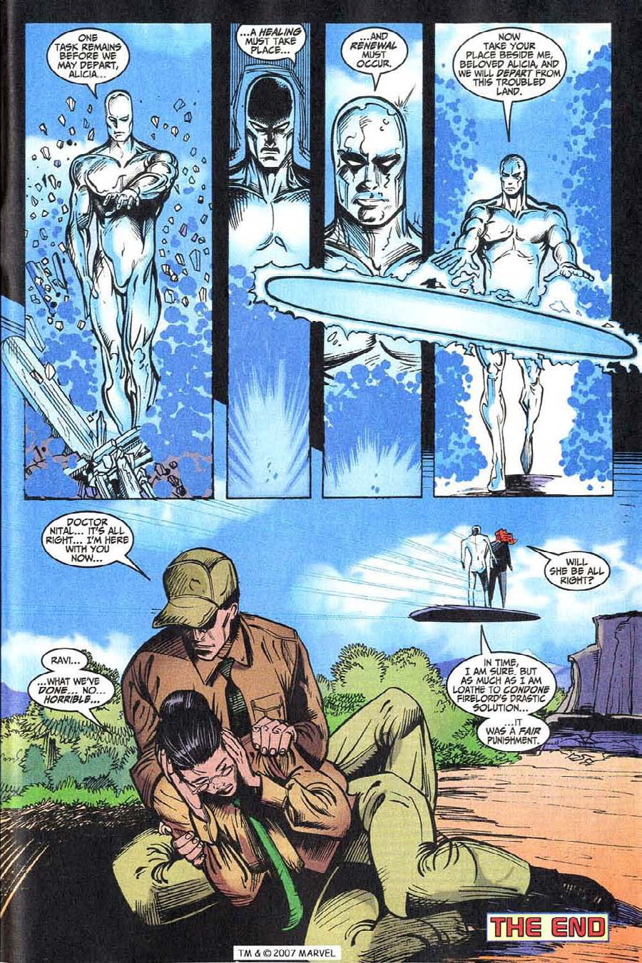 Read online Silver Surfer (1987) comic -  Issue #146 - 35