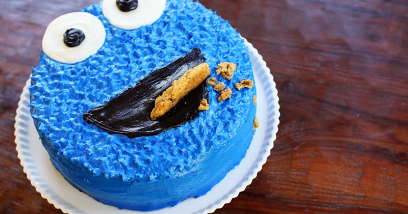 A Cookie Monster Birthday Cake Sweet Anna S