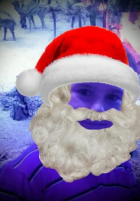 disfrutando la Navidad